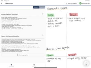 Digitale Beobachtungsunterlage Papierloses Assessment